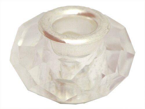 FreeStyle NF Acrylperlen facettiert, ca.9x13mm, crystal