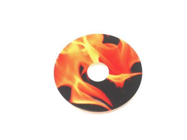 """RingIT Zubehör Acryl-Motivscheibe30mm """"Fire"""""""""""