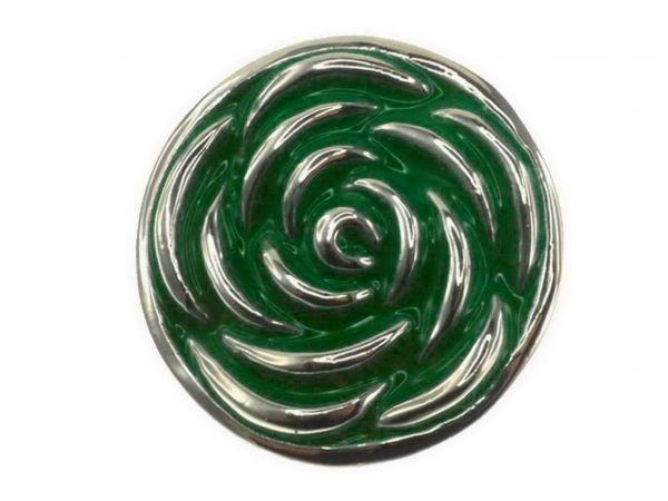 Click-it Button Rose, 18 mm, grün