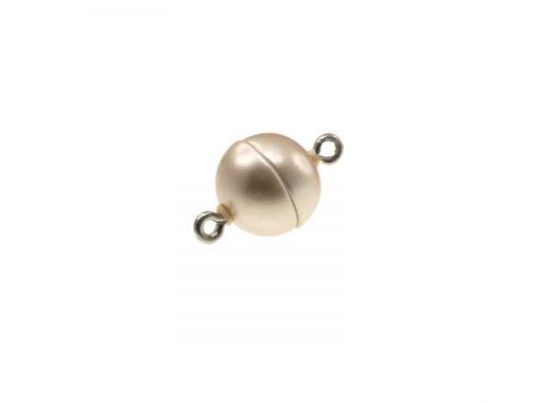 Magnetverschluss Powerclip DE, rund 12mm, champagner