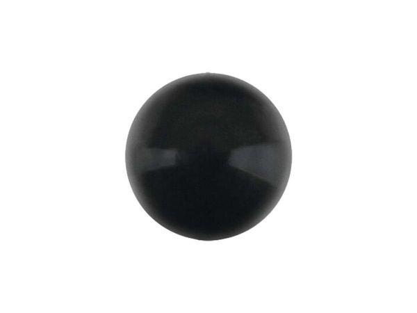 Swarovski crystal pearl 10mm, mystic black
