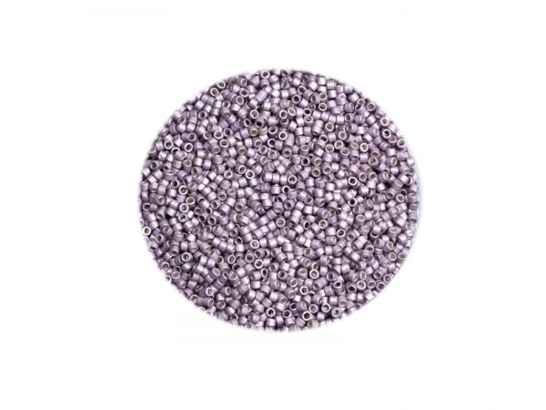 Toho Treasure 11-0, 1.8mm, galvanized, matt Lilac, TT-11- PF554F, 5g, ca.700 Perlen