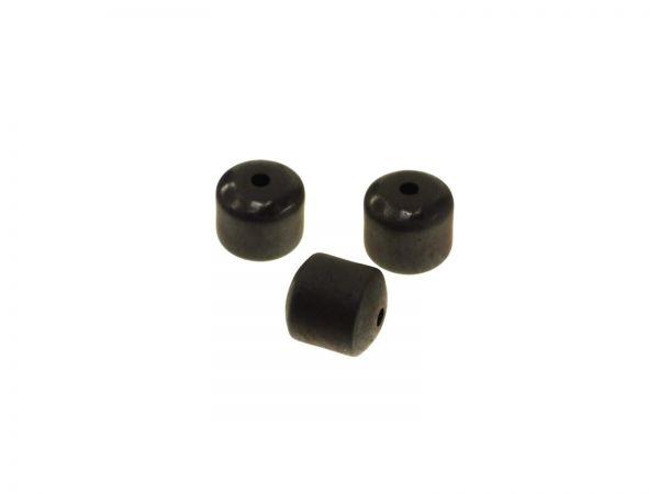 Zylinder 5x6mm Hämatit matt Beutel Inhalt 100St.