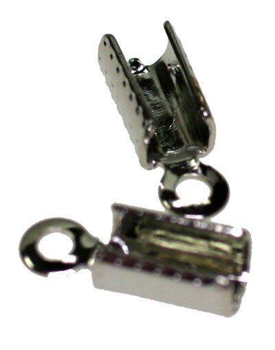 Klemmbleche 2mm 10 Stck silberfarbig