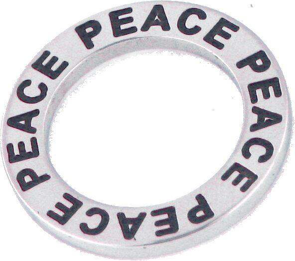 Edelstahlelement Rund ca. 20mm, Peace