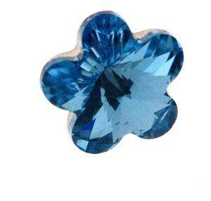 Swarovski - Crystalstein Flower 4744 10mm aqua