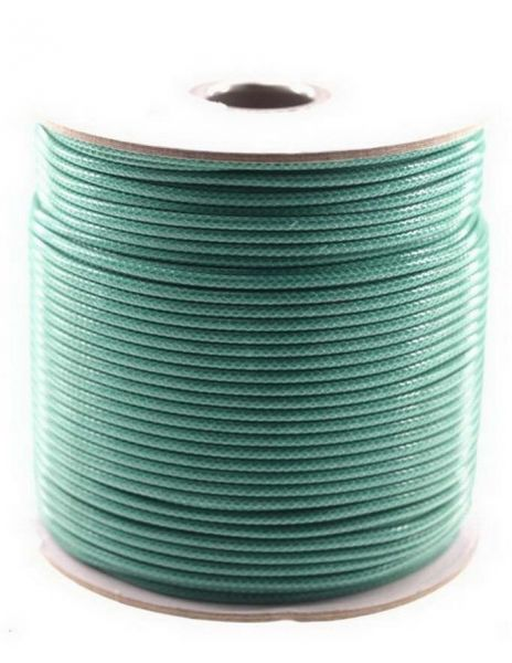 Textilschnur (Polyester) 2mm 91m Rolle, petrol