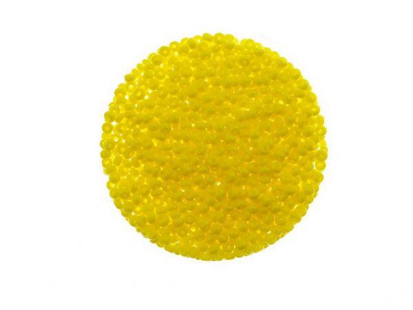 Rocailles 2mm ca.14g r opak gelb