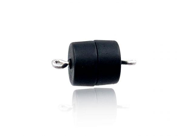 Magnetverschluss Powerclip DE, Trommel 9,5x10mm, schwarz matt