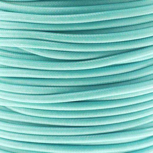 Textilschnur (Polyester) 1,5mm 1,00m Zuschnitt, türkis