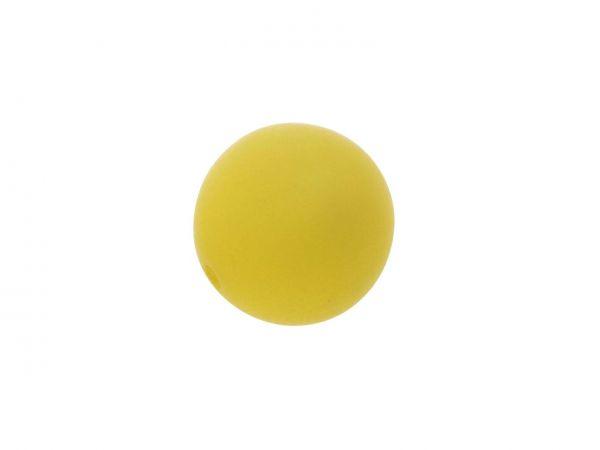Polarisperle 20mm matt, gelb