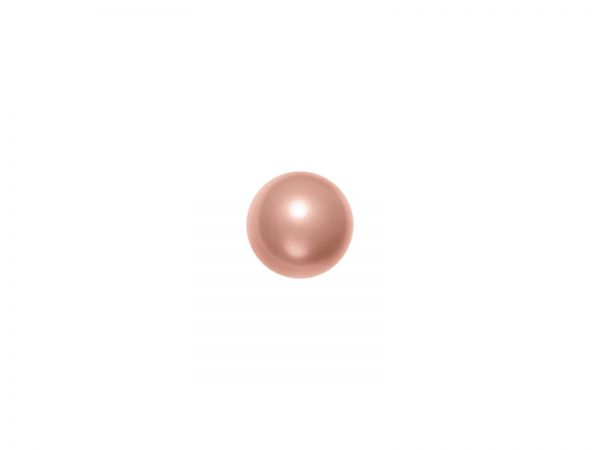 Swarovski crystal pearl 8mm, 24 Stück, rose peach pearl