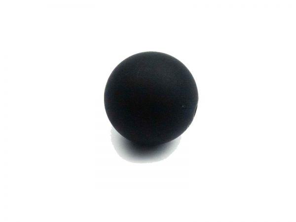 Polarisperle 14mm matt, schwarz