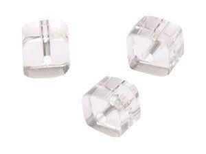 Crystal-Würfel, preiswerte Qualität, 8mm Strang , ca. 40 Stck , crystal