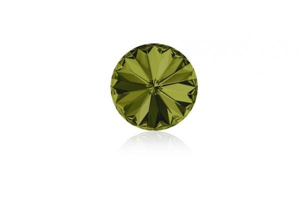 Swarovski - Crystalstein rund 11mm olivine