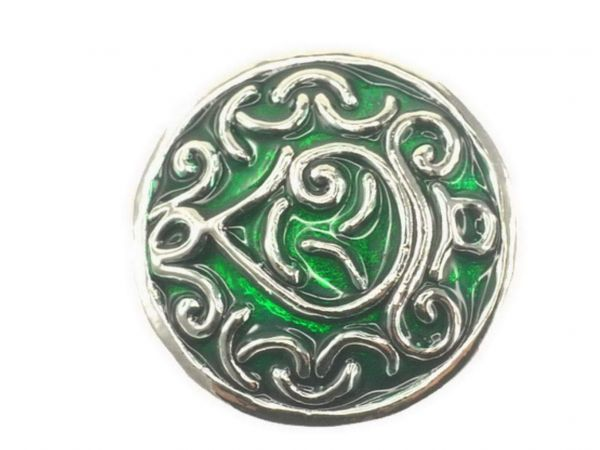 Click-it Button Djin, 18 mm, grün