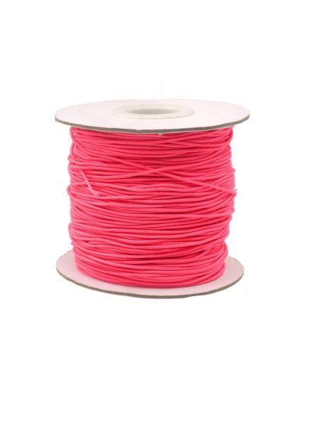 Gummischnur, ca. 2,5mm dick, 15m Rolle, pink