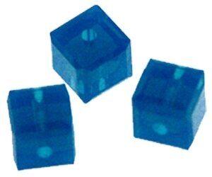 Swarovskiwürfel 8mm, caribbean blue opal