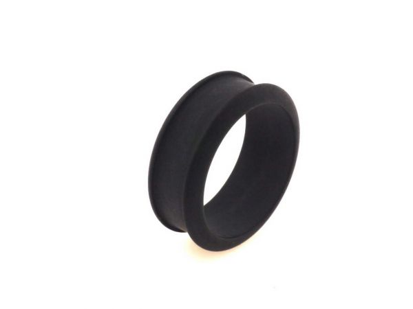 Nice-wire Ring Rohling, Polaris matt, 5 Stück, Größe 20 schwarz
