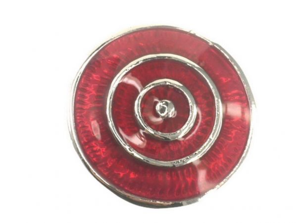 Click-it Button Kreise, 18 mm, rot