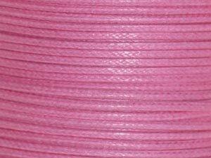 Baumwollschnur, 1.5mm, 100 m Rolle, pink