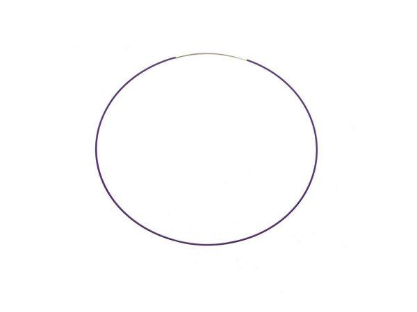Drahtcollier easy 1mm 45cm violett