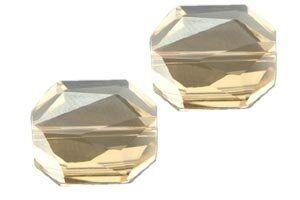 Swarovski - Crystal 5520 Graphic Bead 18mm golden shadow
