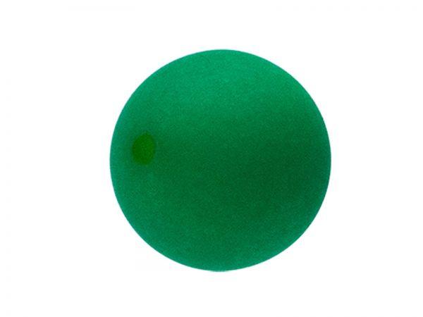 Polarisperle 10mm matt, emerald