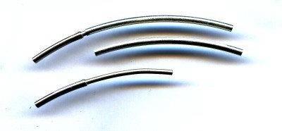 Schiebeverschluss silberfarbig, für 1,25mm Draht , made in germany
