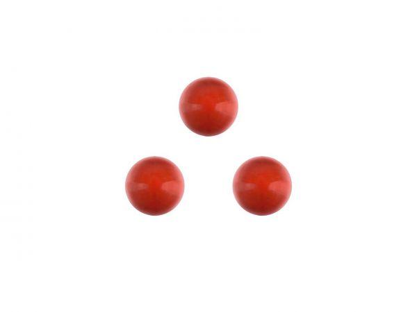Swarovski crystal pearl 6mm, 40, red coral pearl