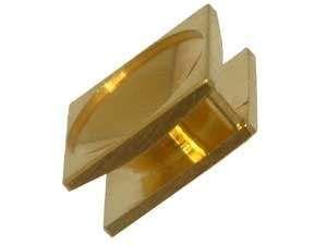 MC Anhänger Kessel für 14mm Stein goldfarben