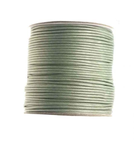 Textilschnur (Polyester) 1mm 1,00m Zuschnitt, oliv