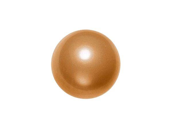 Swarovski crystal pearl 8mm, copper