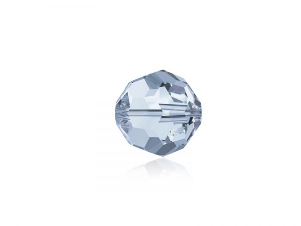 Swarovskiperle 5000, rund, 6mm, crystal blue shade