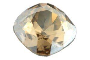 Swarovski crystal Stein 4470, 12mm golden shadow