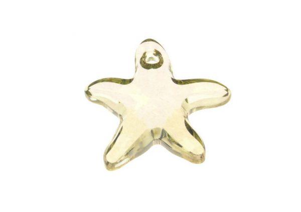 Swarovski Starfish pendant 16mm luminous green