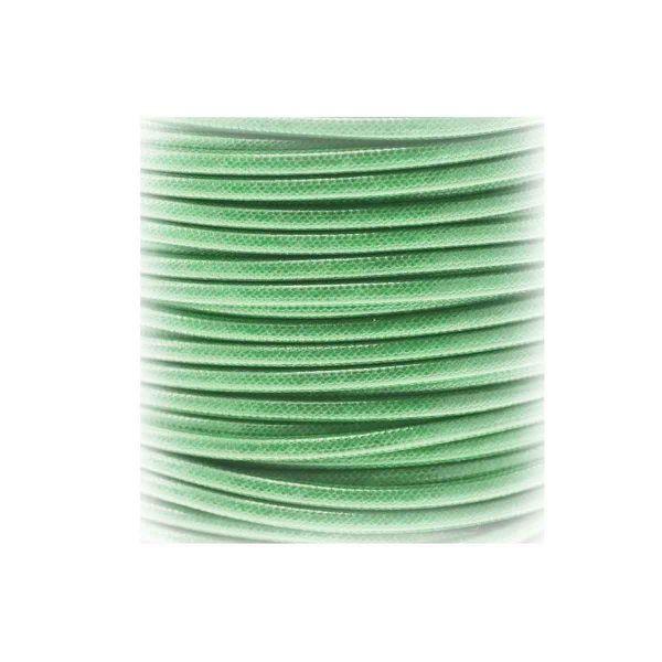 Textilschnur (Polyester) 1,5mm 1,00m Zuschnitt, emerald
