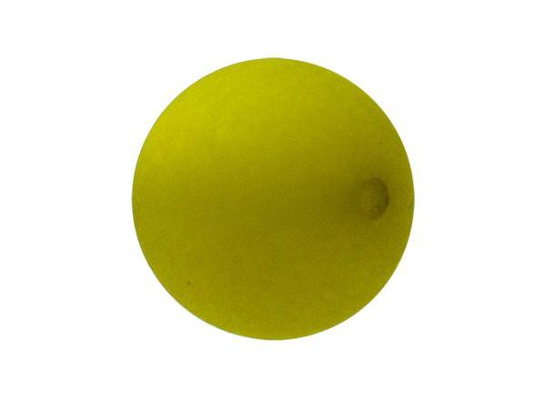 Polarisperle 12mm matt, oliv