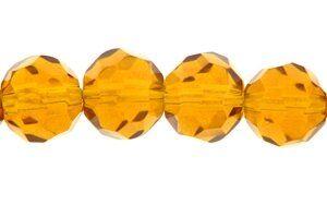 Crystal-Schliffperlen, preiswerte Qualität, 6mm Strang , ca. 50
