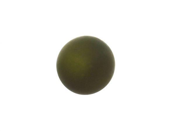 Polarisperle 12mm matt, dkl.olive