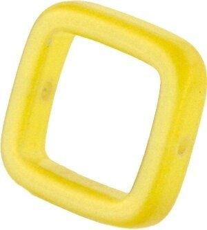 Solaris kristall Quadrat 18mm citron
