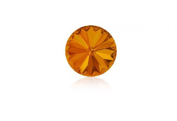 Swarovski - Crystalstein rund 12mm tangerine