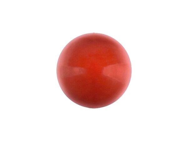 Swarovski crystal pearl 6mm, red coral pearl