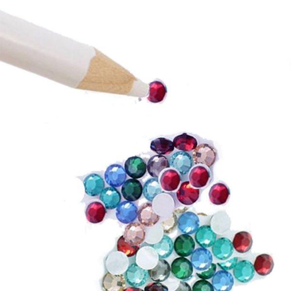 Strasspicker Stift zum aufnehmen und platzieren von Strasssteinen etc.