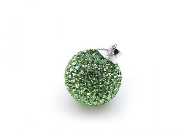 Anhänger ''Diamondball'' 10mm peridot