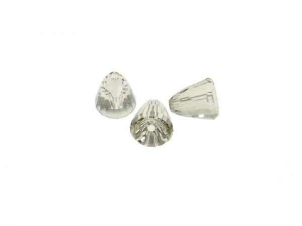 Swarovski 5541 Dome Bead large 11mm, silver shade