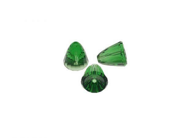 Swarovski 5541 Dome Bead large 11mm, Dark Moos Green