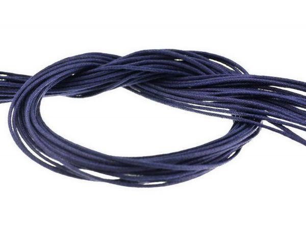 Textilband ca. 1mm dick 1,00 m dunkelblau