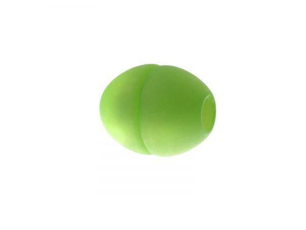 Polaris Magnetverschluß z. einkleben, 14x17mm, Bohrung 5mm, matt apfelgrün