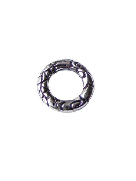 RockIT! Basic Edelstahl Drageon Charmsring klein, ca.17,5mm